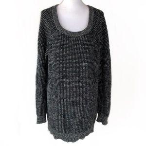Free Press Cold Shoulder Sweater, L